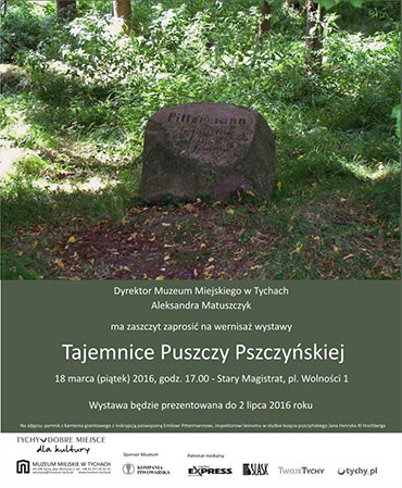 """Wernisaż wystawy """"Tajemnice Puszczy Pszczyńskiej"""""""