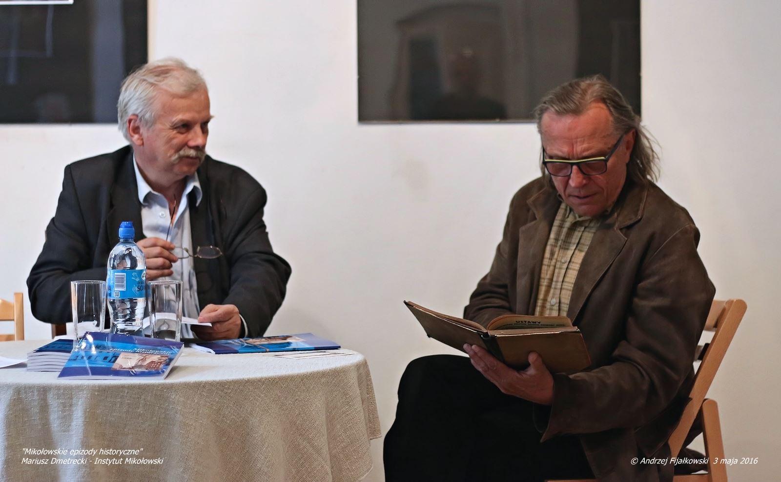 Promocja najnowszej książki Mariusza Dmetreckiego