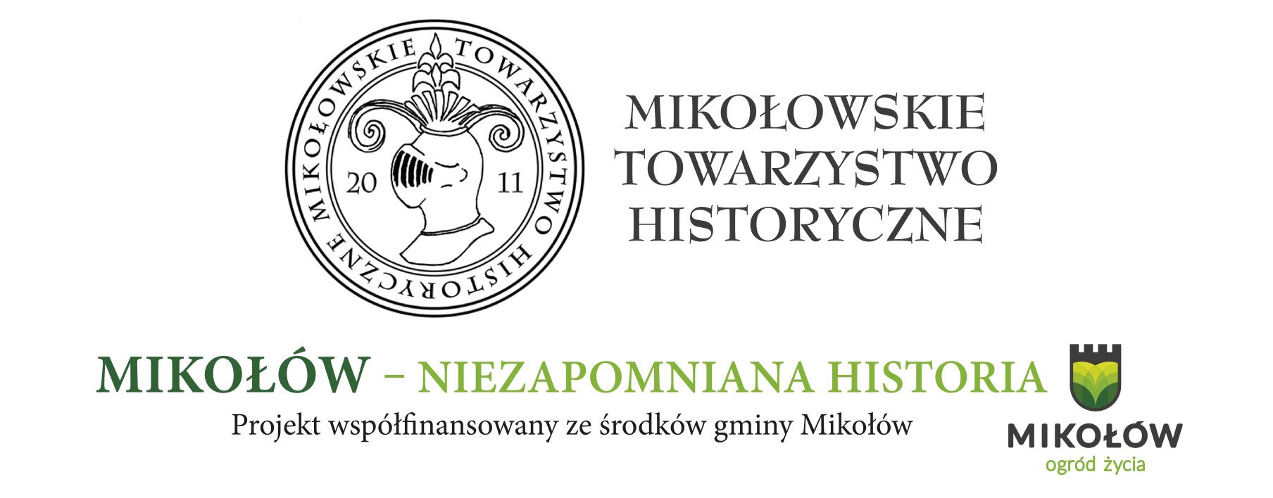 """Projekt """"Mikołów -niezapomniana historia""""."""