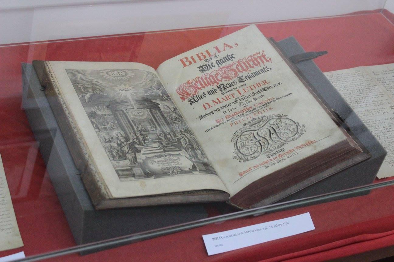 Wystawę z okazji 155-lecia Kościoła św. Jana w Mikołowie i 500 lat Reformacji